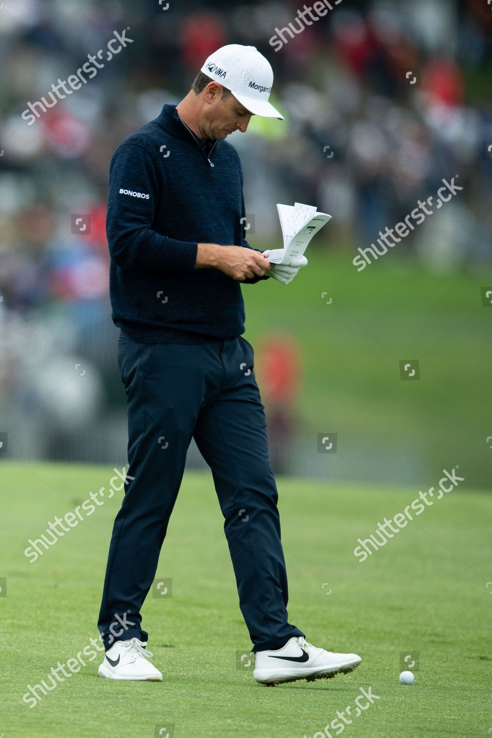 Justin Rose England Editorial Stock Photo - Stock Image