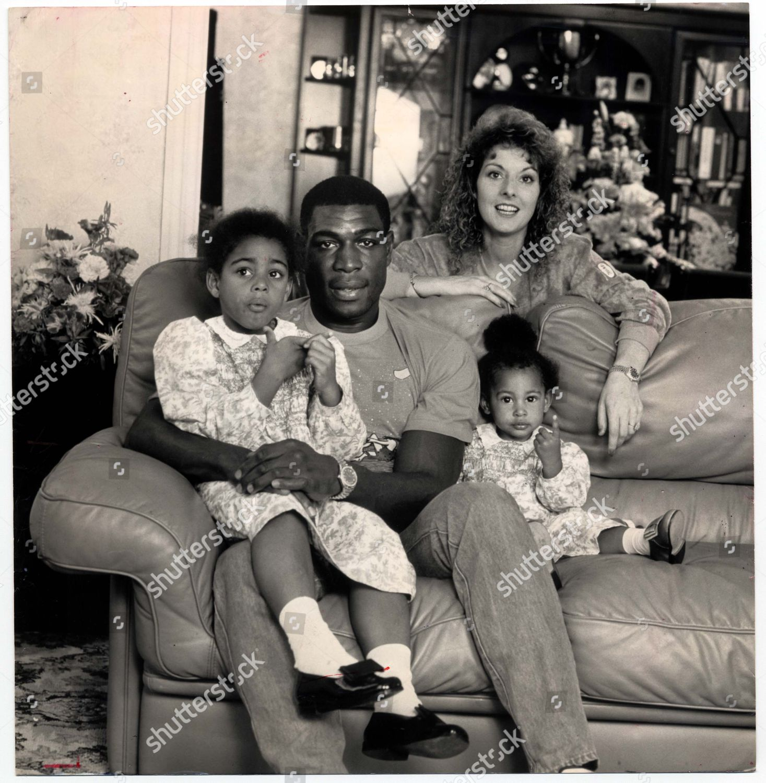 Frank Bruno Wife Laura Bruno Children Boxer Editorial Stock Photo Stock Image Shutterstock
