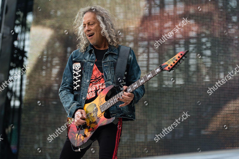 Metallica Kirk Hammett Editorial Stock Photo - Stock Image