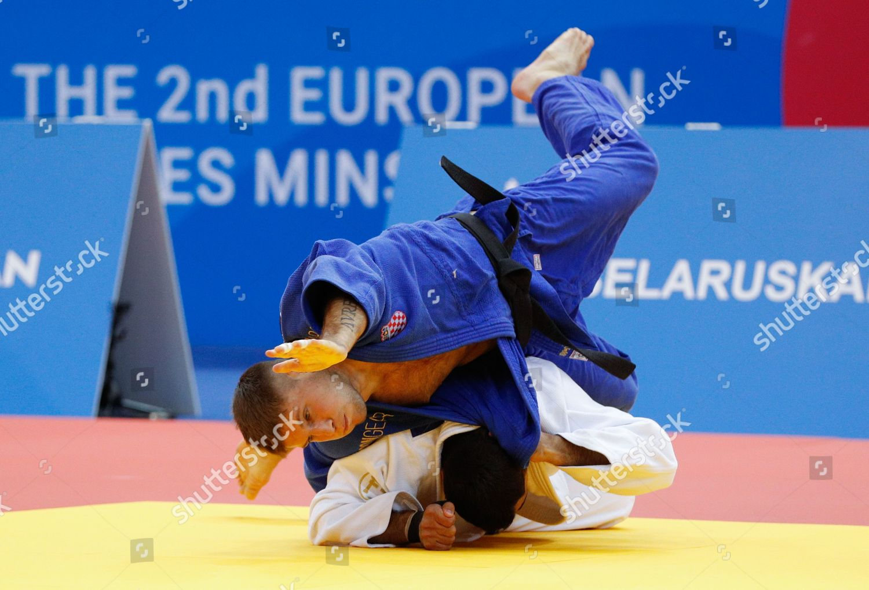 Zlatko Komric blue Croatia Elmar Gasimov Azerbaijan