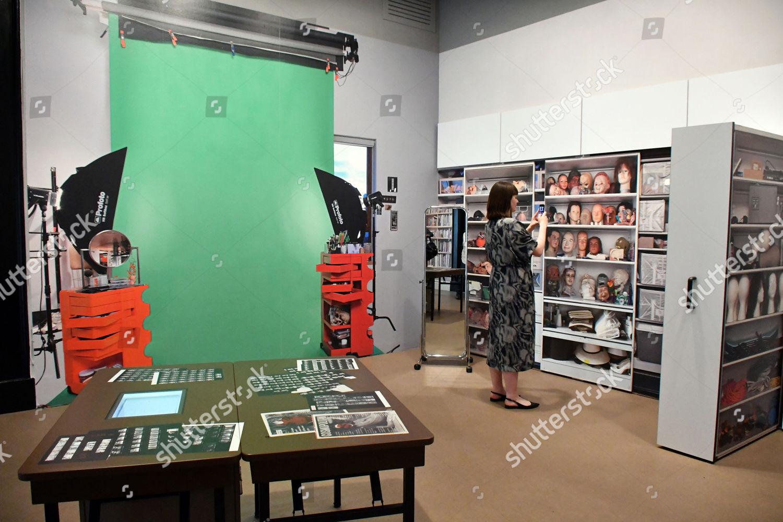 Stock photo of Cindy Sherman exhibition, National Portrait Gallery, London, UK - 26 Jun 2019