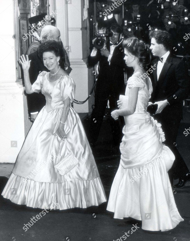 Queen Elizabeth Ii 60th Birthday Party Princess Editorial Stock