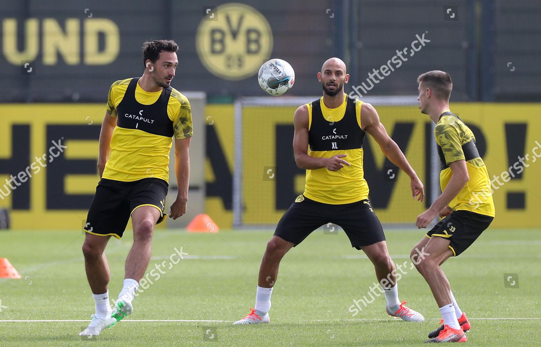 Dortmunds Mats Hummels Omer Toprak Julian Weigl Editorial Stock Photo Stock Image Shutterstock