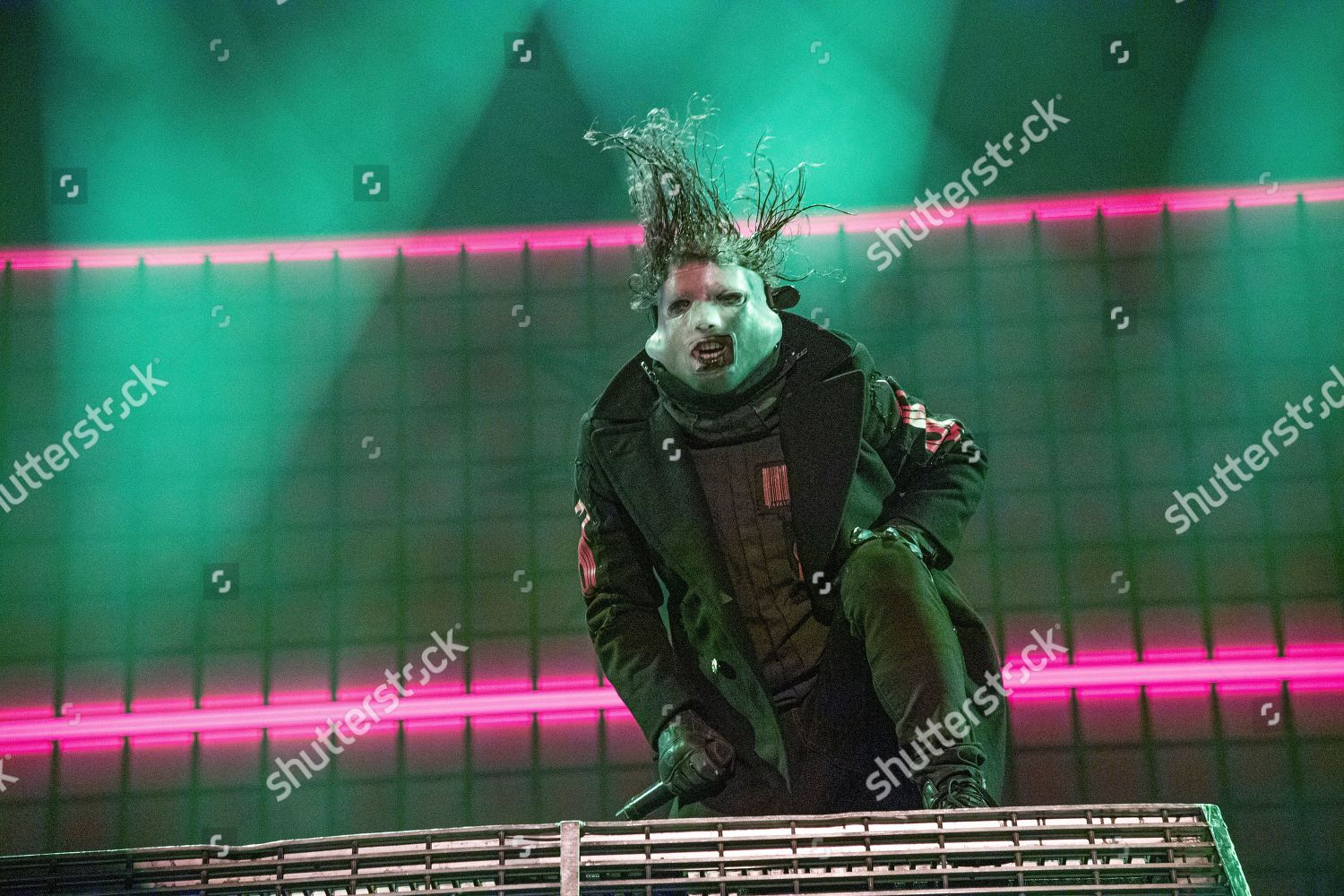 Corey Taylor Slipknot performs during Festival dete Editorial Stock