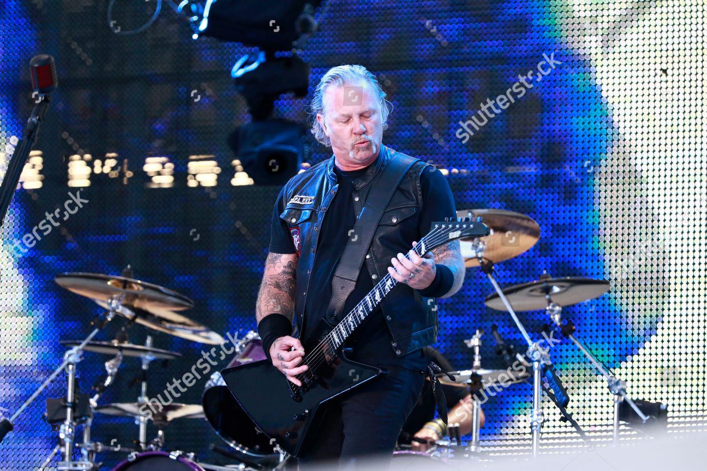 Metallica James Hetfield Editorial Stock Photo - Stock Image