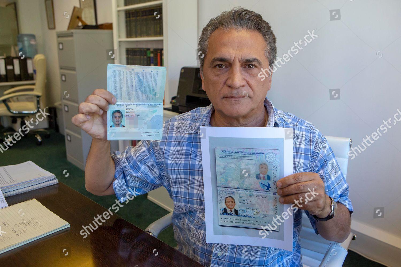 Passport Fraud Aris Nicolson His Real Passport Editorial
