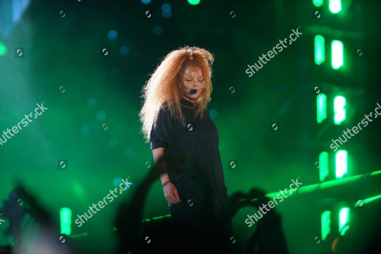 Janet Jackson performs during Jeddah World Fest Editorial