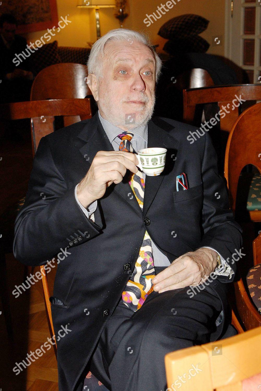Luciano De Crescenzo Editorial Stock Photo Stock Image