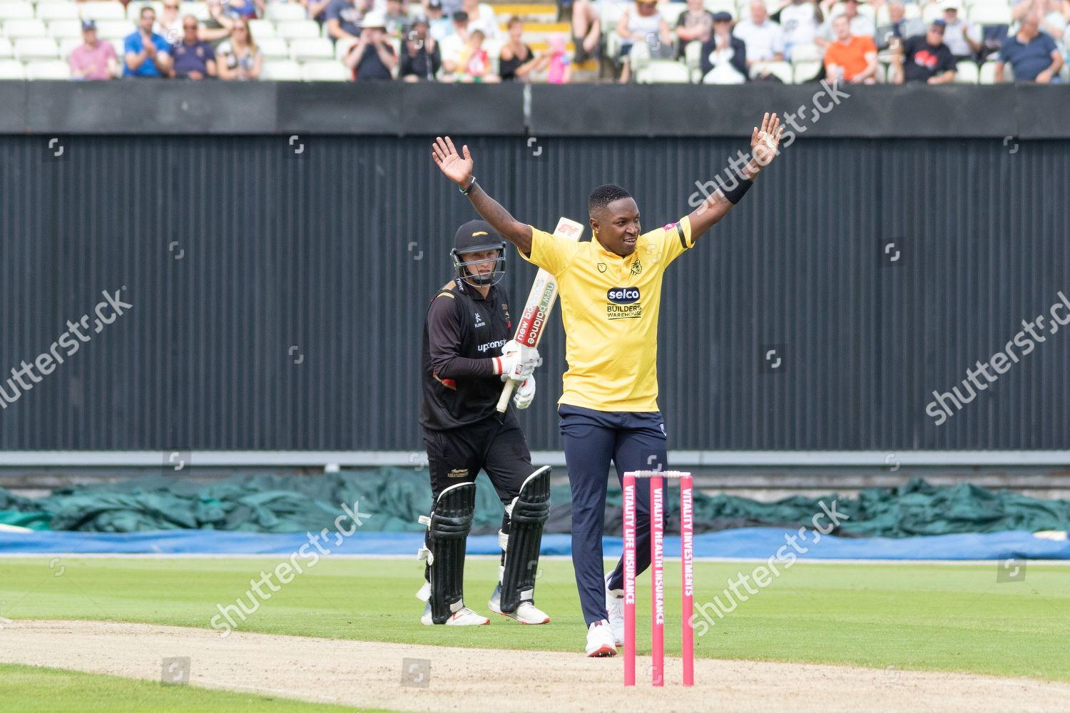 Wicket Fidel Edwards Claims His 4th Wicketduring Editorial