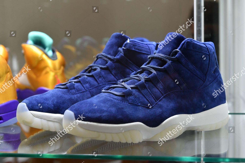 Derek Jeteredition Air Jordan 11s sneaker size Editorial Stock Photo