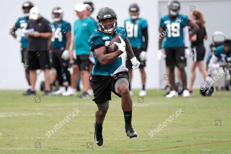 timeless design 13f0b f03e6 Jacksonville Jaguars cornerback Jocquez Kalili runs ball ...