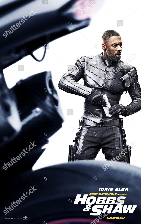 Fast Furious Presents Hobbs Shaw 2019 Poster Foto Editorial Imagem De Banco Shutterstock