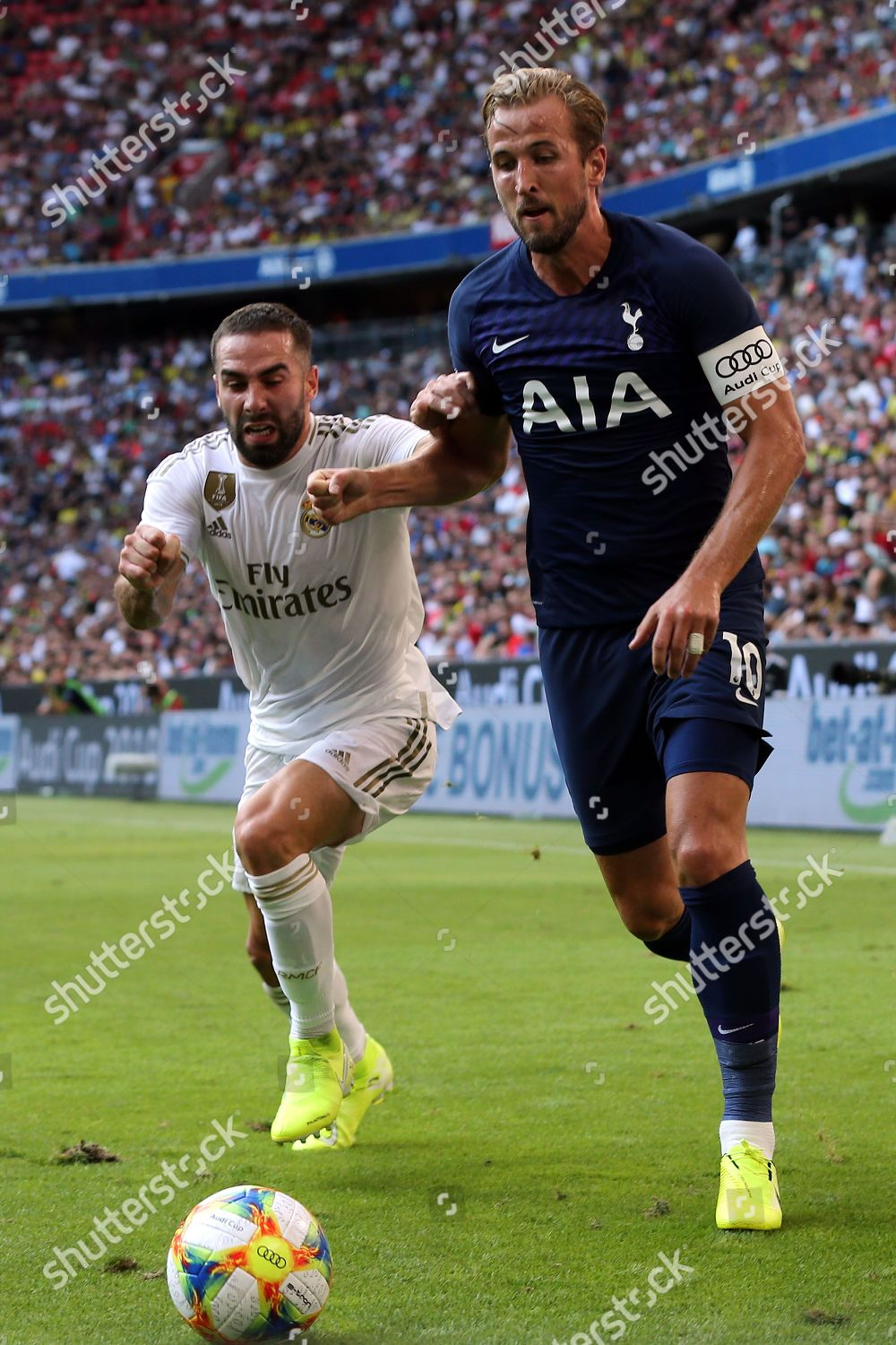Daniel Carvajal Real Madrid Harry Kane Tottenham Editorial Stock