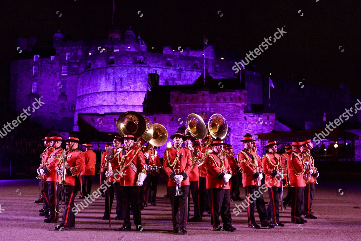 New Zealand Army Band Editorial Stock Photo - Stock Image