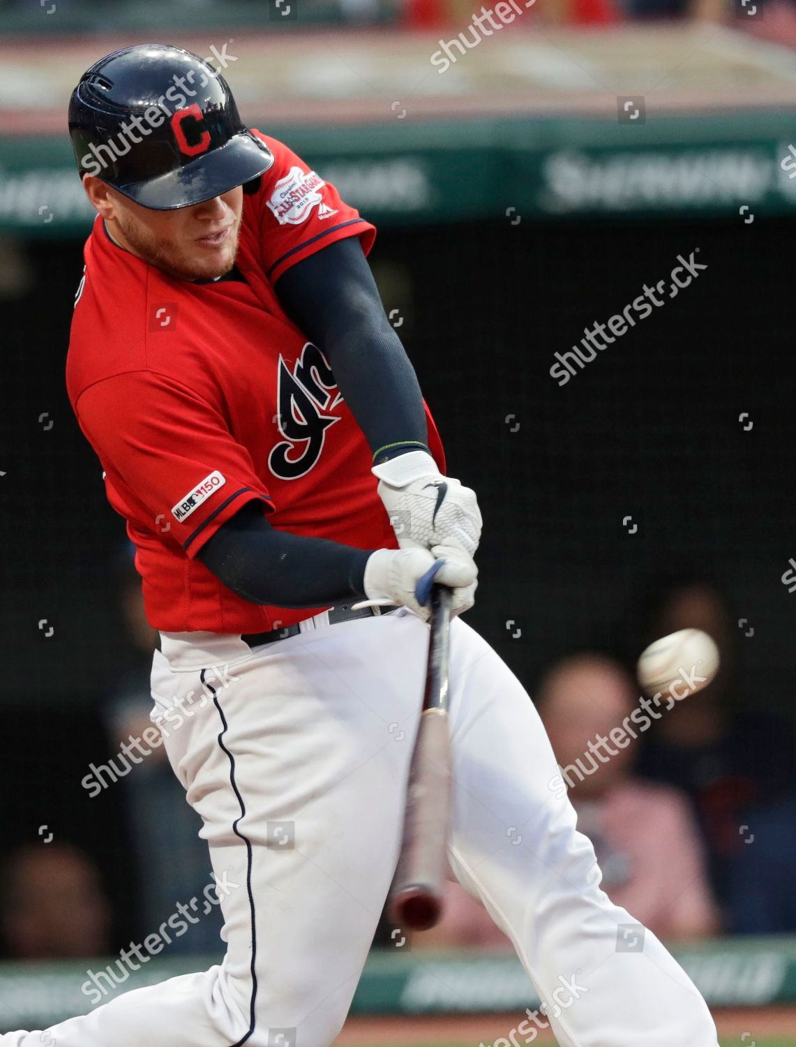 Cleveland Indians Roberto Perez hits solo home Editorial