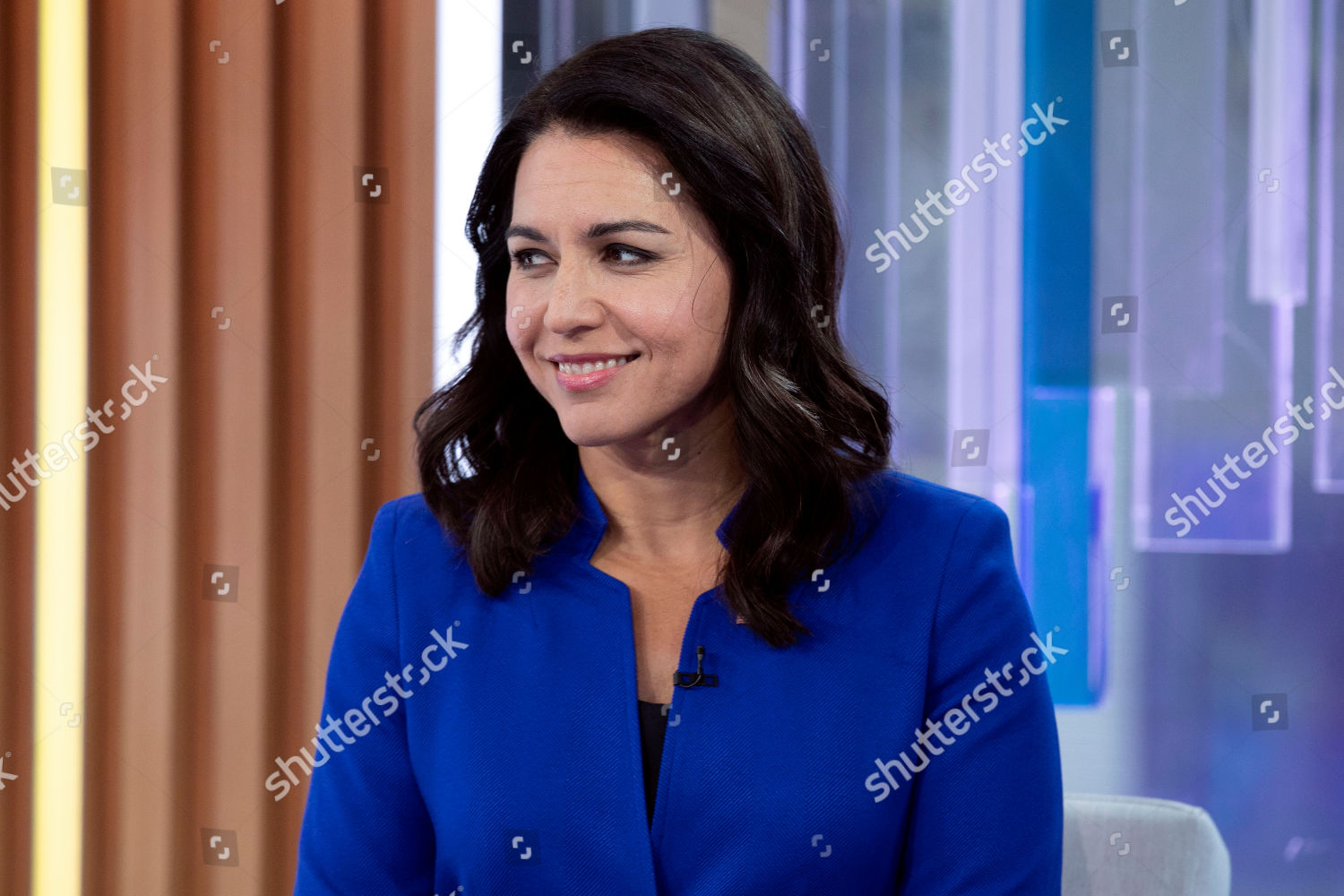 New York Elections 2020.Presidential Candidate Us Representative Tulsi Gabbard Dhi