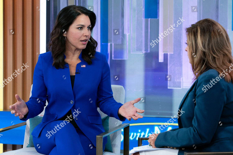 New York Election 2020.Tulsi Gabbard Maria Bartiromo Presidential Candidate Us