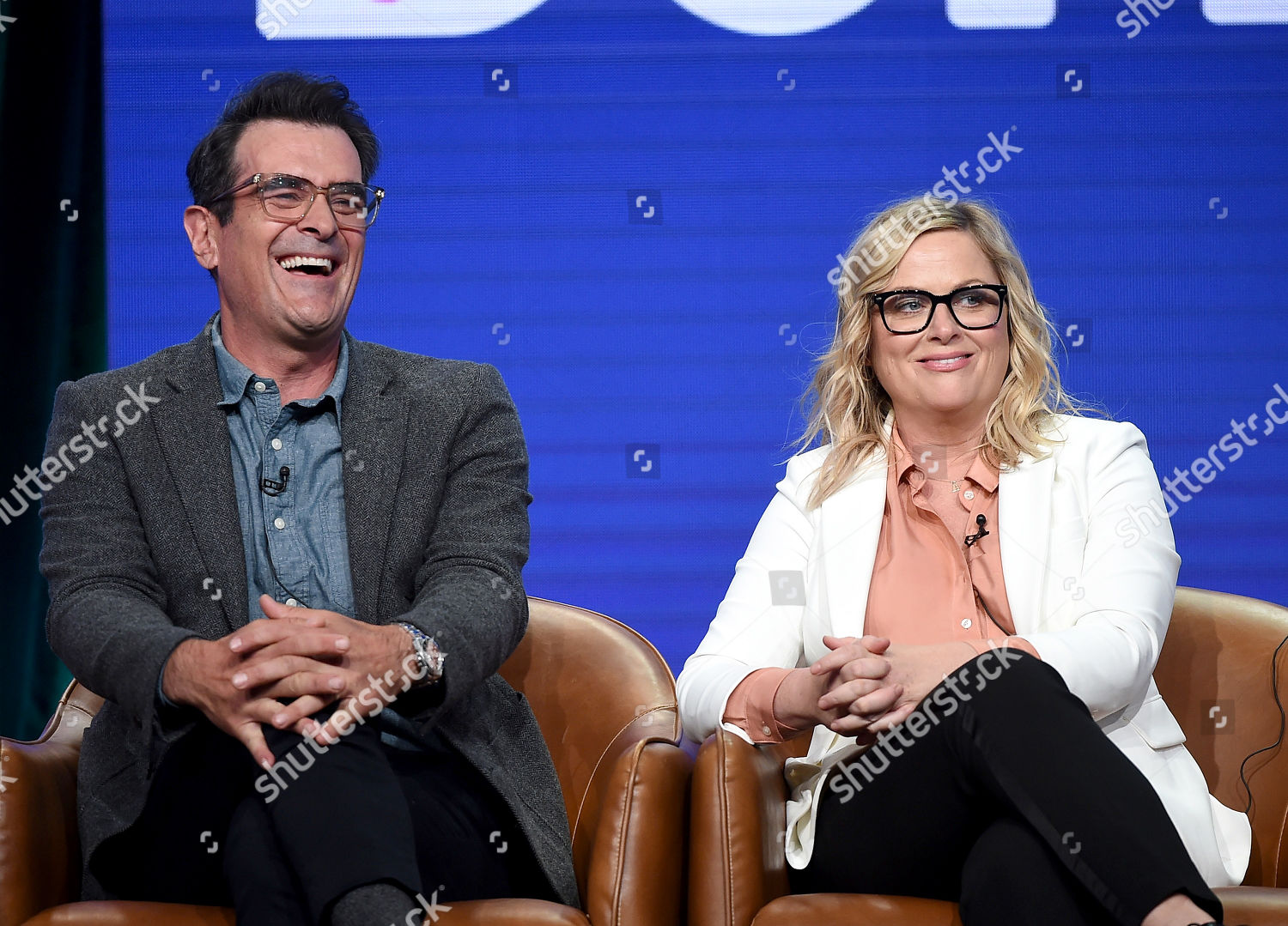 Ty Burrell Amy Poehler Editorial Stock Photo - Stock Image