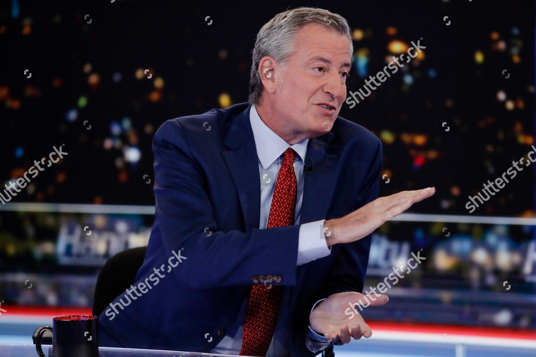 New York Election 2020.Democratic Presidential Candidate New York Mayor Bill