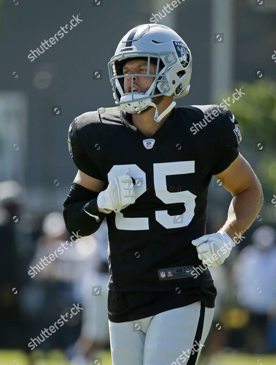 buy popular a2d52 5fd8d Oakland Raiders free safety Erik Harris during Editorial ...