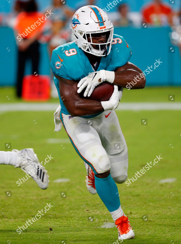 Miami Dolphins Running Back Mark Walton 9 Editorial Stock