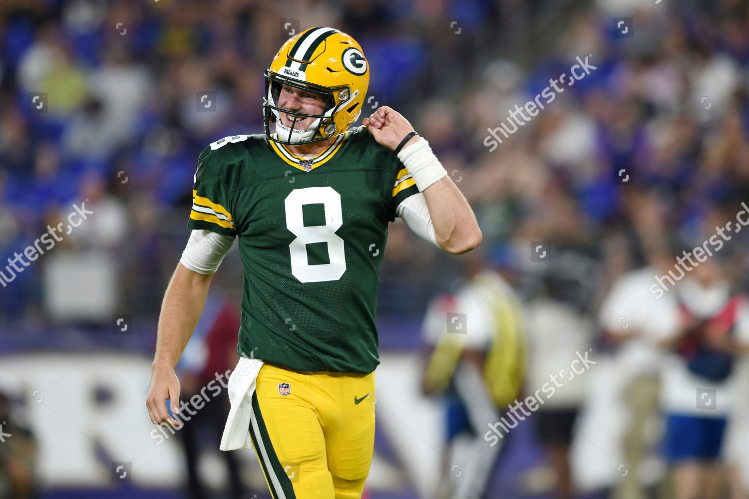 check out 20be6 3f9a9 Green Bay Packers quarterback Tim Boyle 8 Editorial Stock ...
