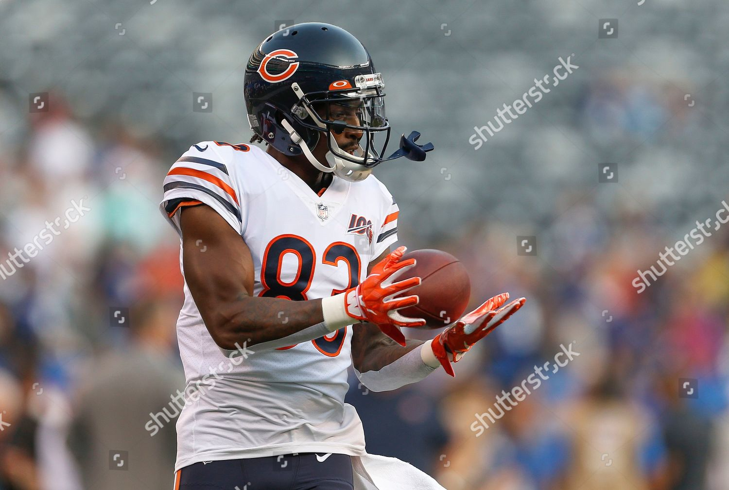 buy popular 002ac af29a Chicago Bears wide receiver Javon Wims 83 Editorial Stock ...