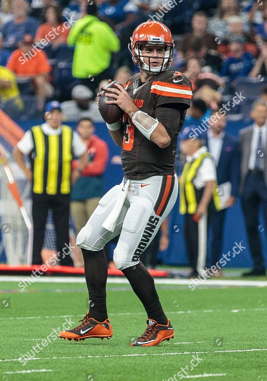 Cleveland Browns Quarterback Garrett Gilbert 3 Passes Editorial Stock Photo Stock Image Shutterstock