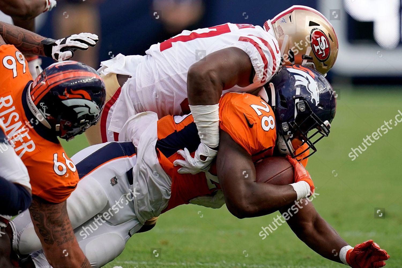 hot sale online 26916 743c0 Denver Broncos running back Royce Freeman 28 Editorial Stock ...