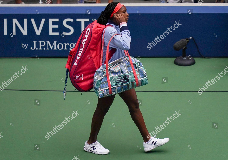Coco Gauff Usa Walks On Court Louis Editorial Stock Photo Stock Image Shutterstock