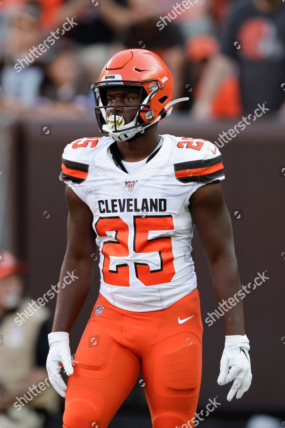 more photos c2b72 30bbc Cleveland Browns running back Dontrell Hilliard 25 Editorial ...
