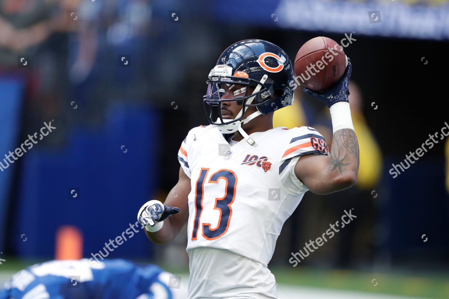 new arrival 6d790 2f48b Chicago Bears wide receiver Marvin Hall 13 Editorial Stock ...