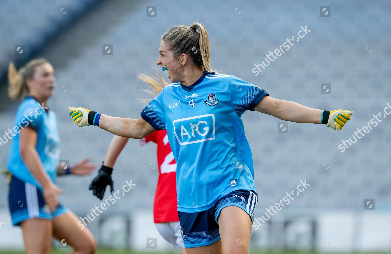 2582019 Cork Vs Dublin Dublins Martha Byrne Editorial Stock Photo Stock Image Shutterstock