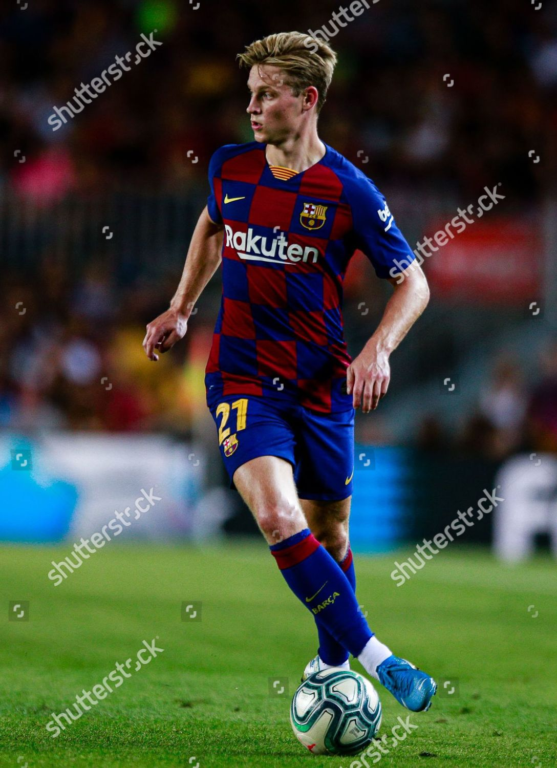 Frenkie De Jong Fc Barcelona Editorial Stock Photo Stock Image Shutterstock
