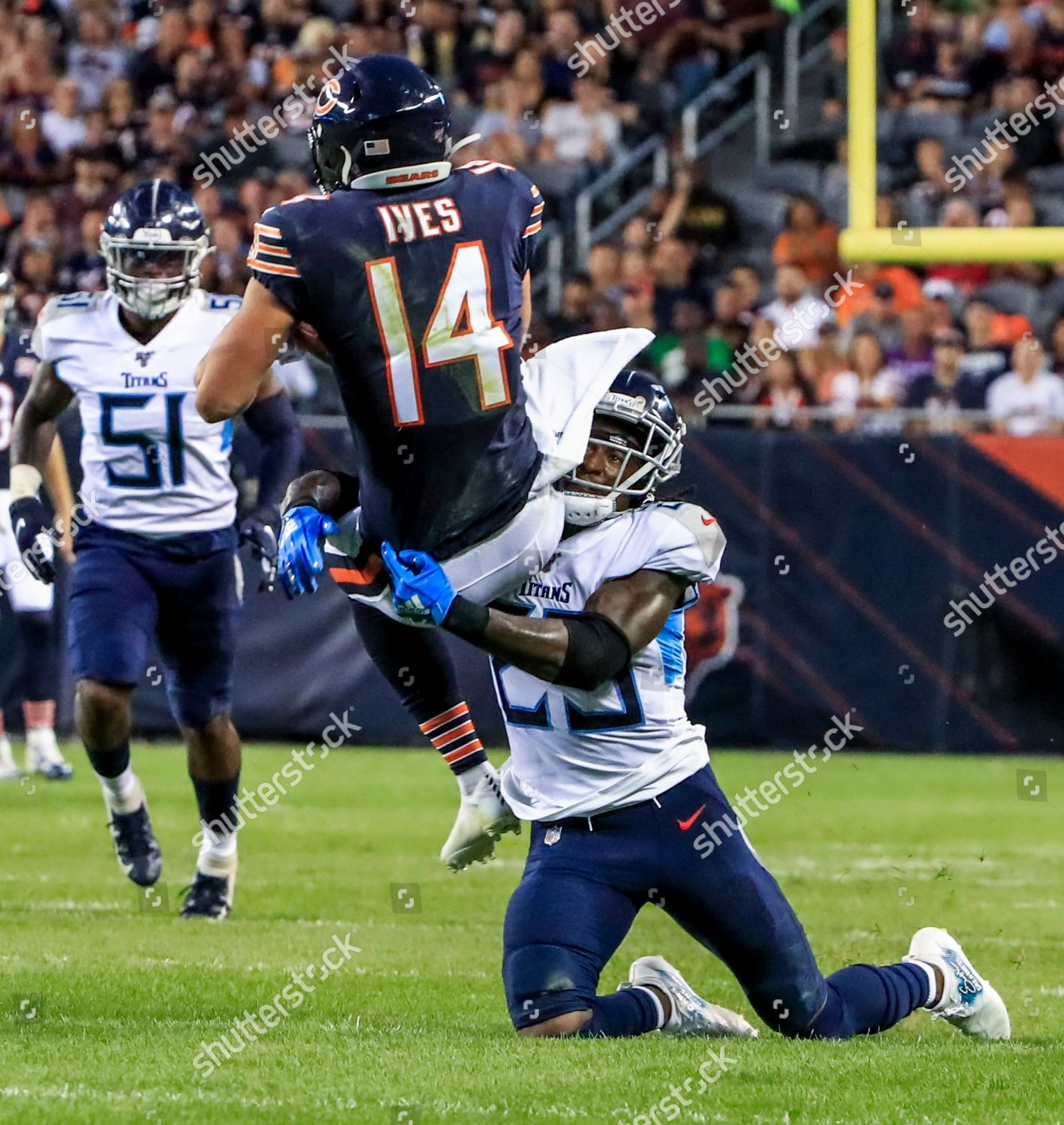 newest 5d011 df0f2 Chicago Bears wide receiver Thomas Ives L Foto editorial en ...