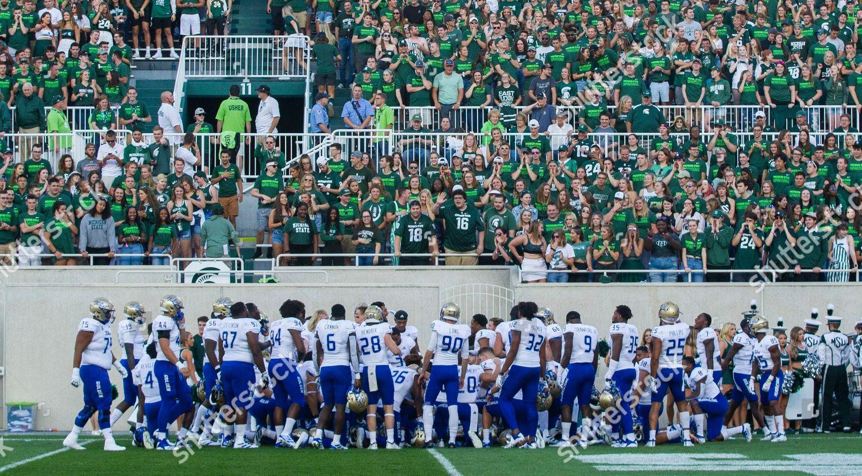 Michigan State Student Section Spartan Stadium Taunt