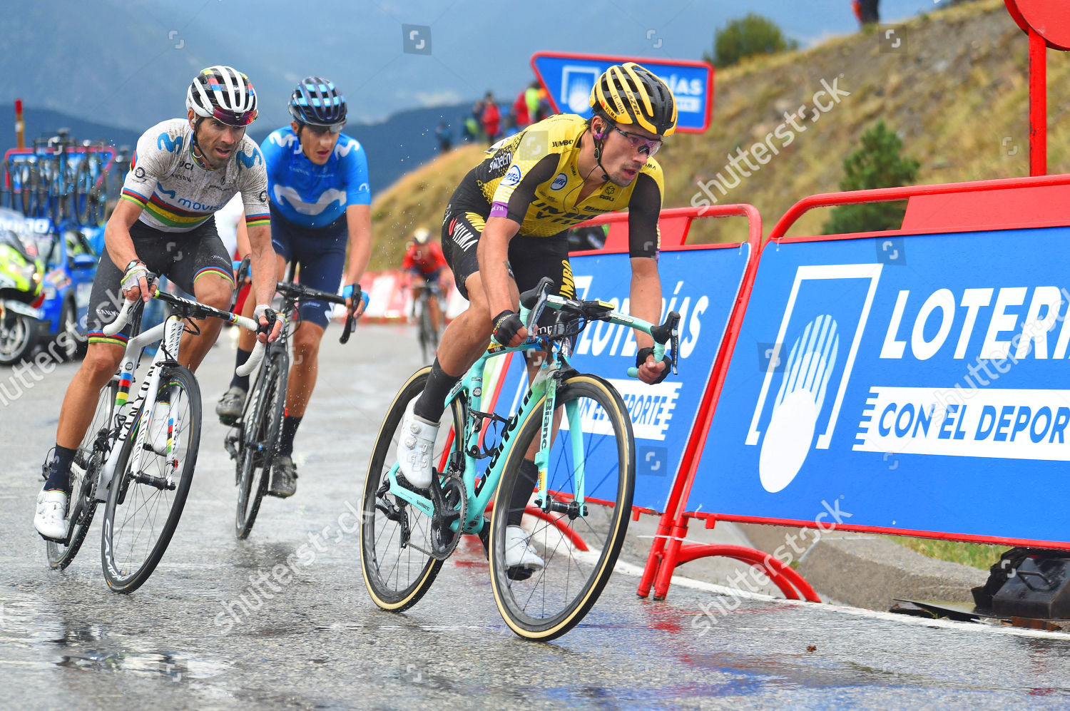 Primoz Roglic Slo Lotto Jumbo Leads World Editorial Stock Photo Stock Image Shutterstock