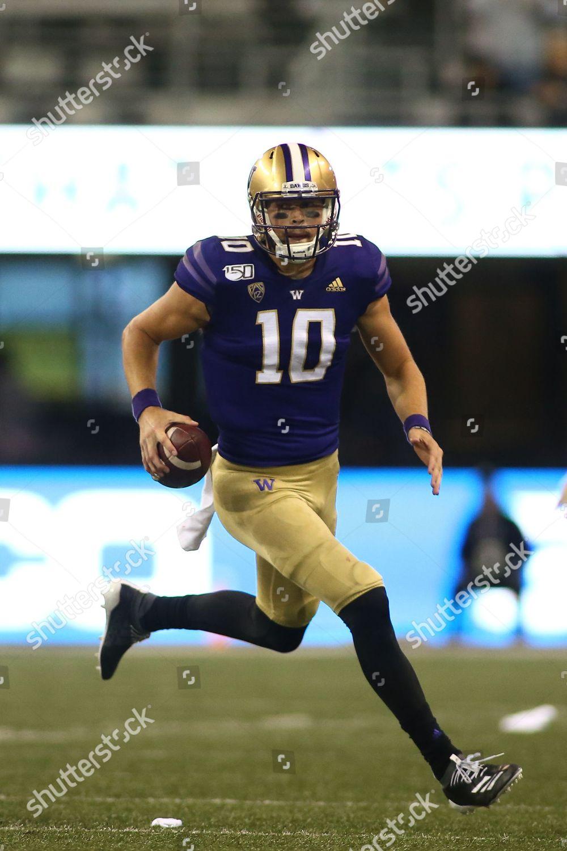 Washington Huskies Quarterback Jacob Eason 10 Scrambles Editorial Stock Photo Stock Image Shutterstock