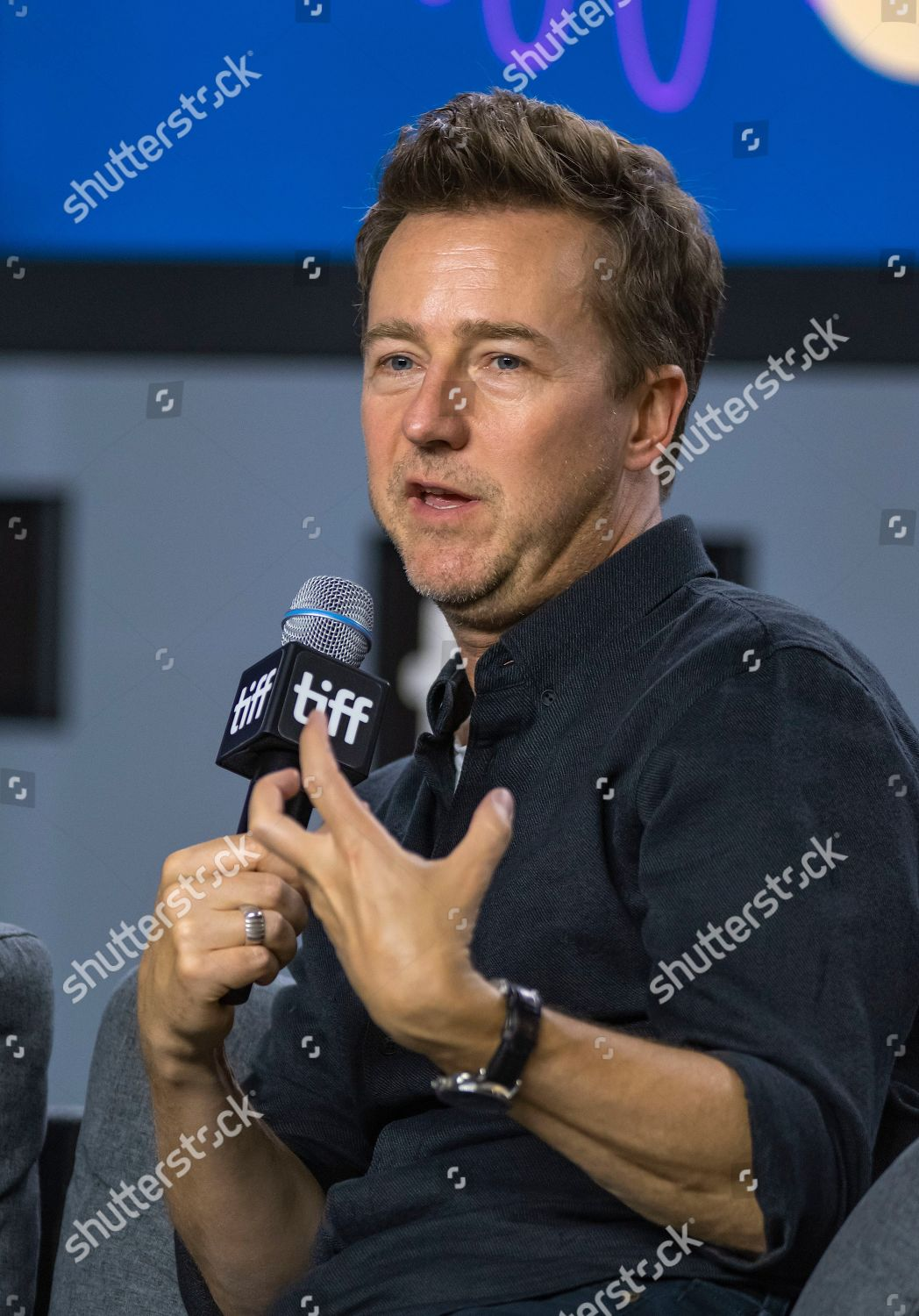 movie 2019 brooklyn Edward Norton Attends Press Conference Movie Motherless
