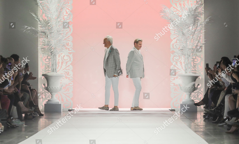 Stock photo of Fashion Badgley Mischka, New York, USA - 11 Sep 2019