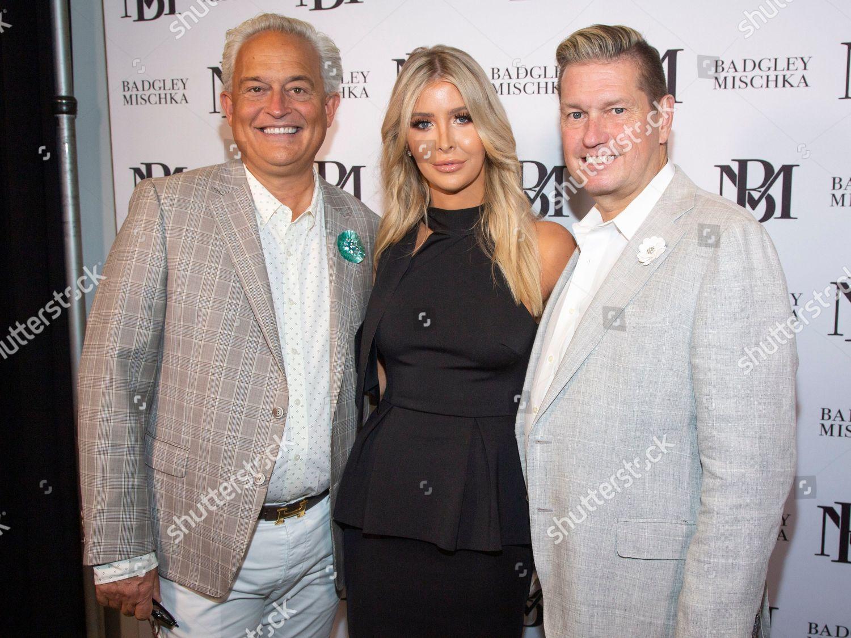 Stock photo of NYFW Spring/Summer 2020 - Badgley Mischka, New York, USA - 11 Sep 2019