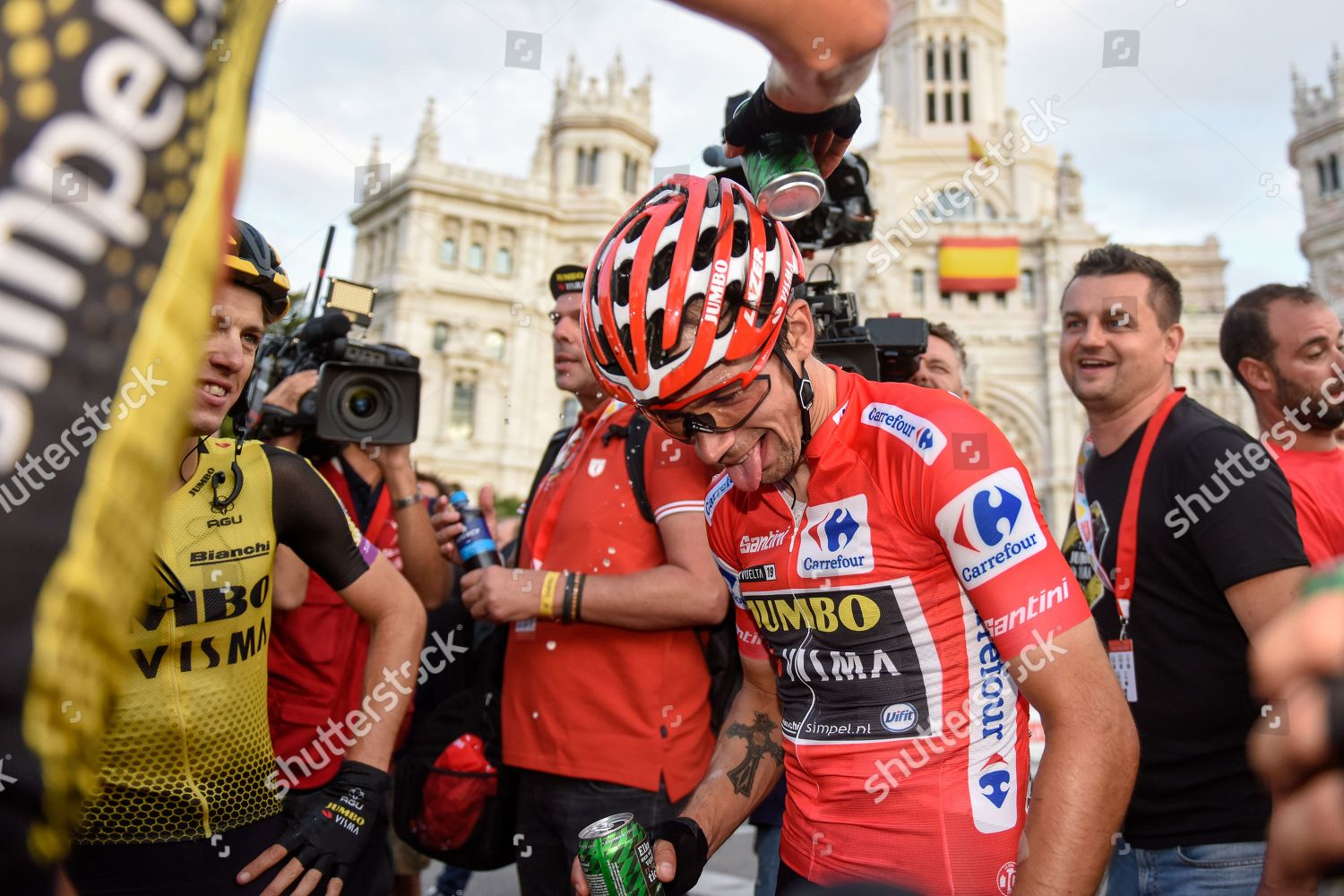 Primoz Roglic Slo Pictured Celebrating He Won Editorial Stock Photo Stock Image Shutterstock