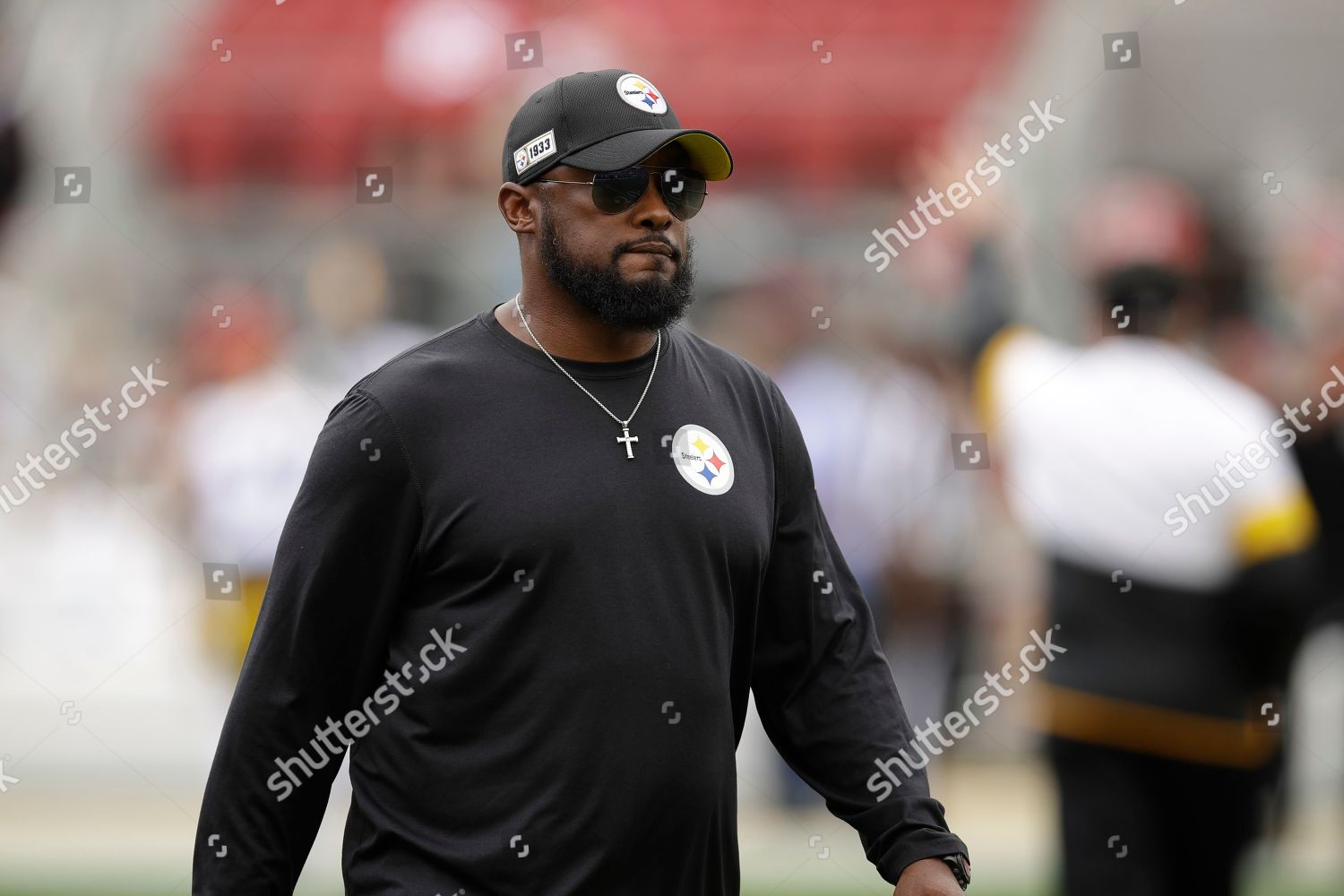 Pittsburgh Steelers Head Coach Mike Tomlin Before Editorial