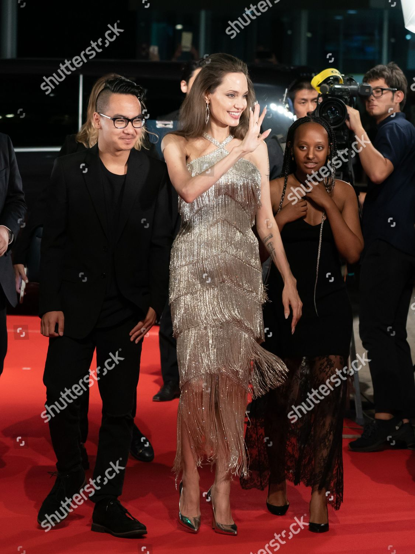 Maddox Joliepitt Angelina Jolie Zahara Joliepitt Foto