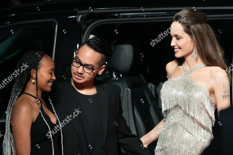 Zahara Joliepitt Maddox Joliepitt Angelina Jolie Foto