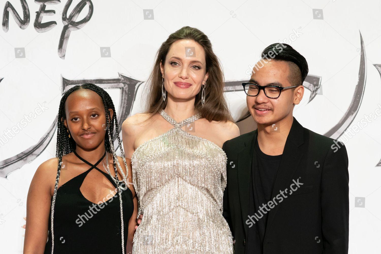 Zahara Joliepitt Angelina Jolie Maddox Joliepitt Foto