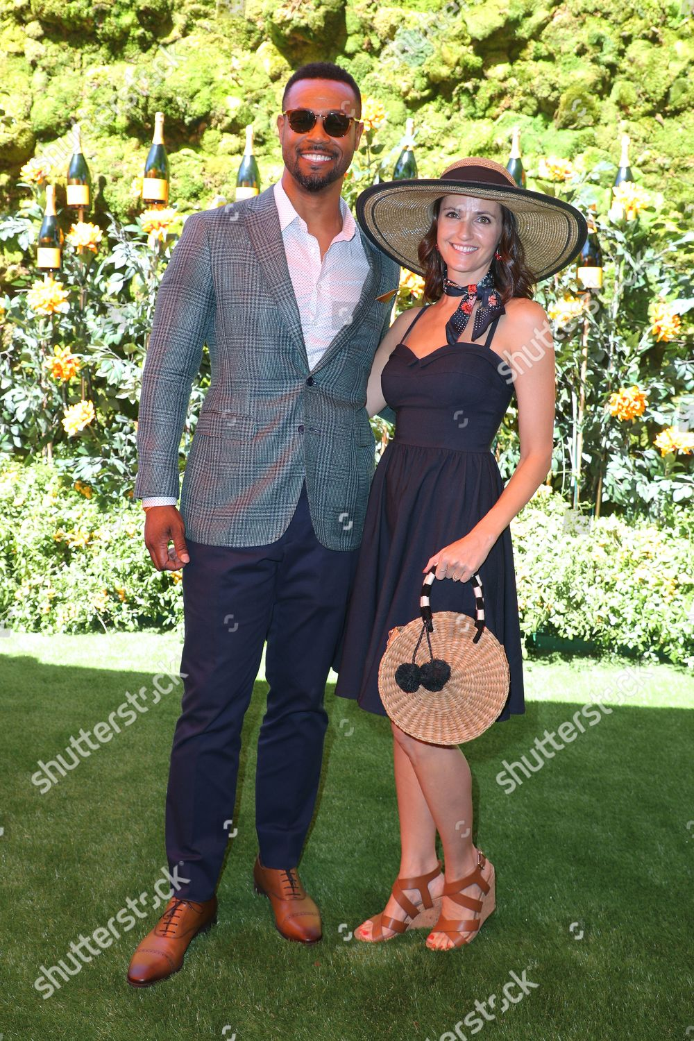 ภาพสต็อกของ Veuve Clicquot Polo Classic, Arrivals, Will Rogers State Park, Los Angeles, USA - 05 Oct 2019