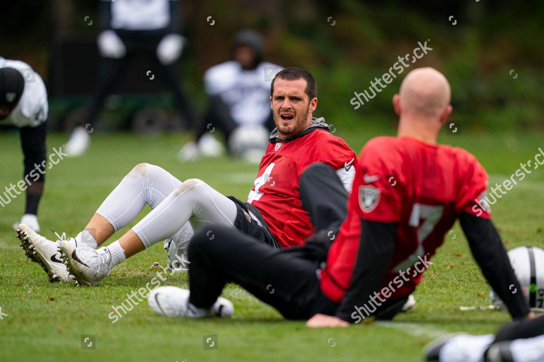 Derek Carr Qb Oakland Raiders Jokes Mike Foto Editorial En Stock Imagen En Stock Shutterstock