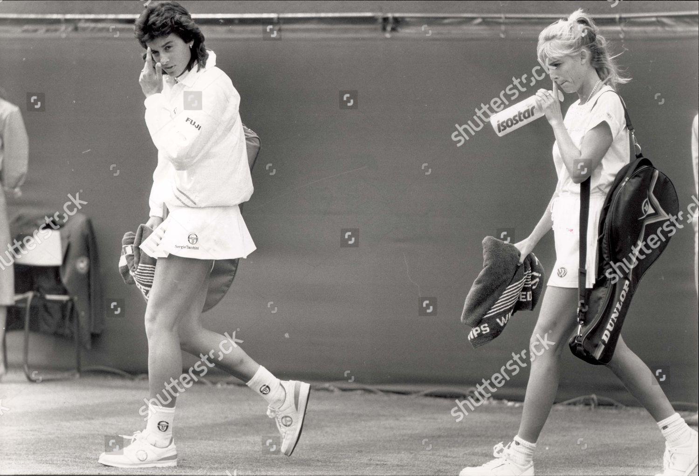 Gabriela Sabatini Tennis Player 1988 Gabriela Sabatini Editorial