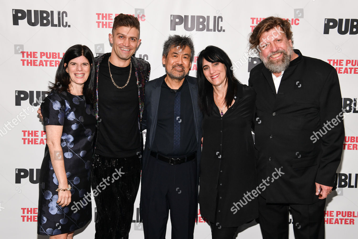 Stock photo of 'Soft Power' play opening night, Arrivals, The Public Theater, New York, USA - 15 Oct 2019